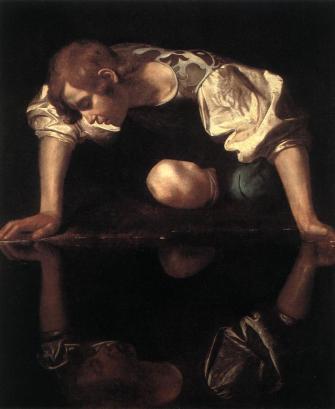Michelangelo_Merisi_da_Caravaggio_-_Narcissus_-_WGA04109